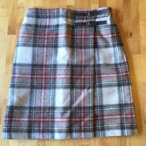 b1c063c8d6d5c Boden Dresses & Skirts - Boden British tweed by Moon plaid wool skirt